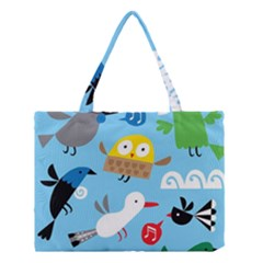 New Zealand Birds Close Fly Animals Medium Tote Bag by Mariart