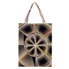 Background With Fractal Crazy Wheel Classic Tote Bag by Simbadda