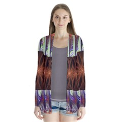 Background Image With Hidden Fractal Flower Cardigans by Simbadda