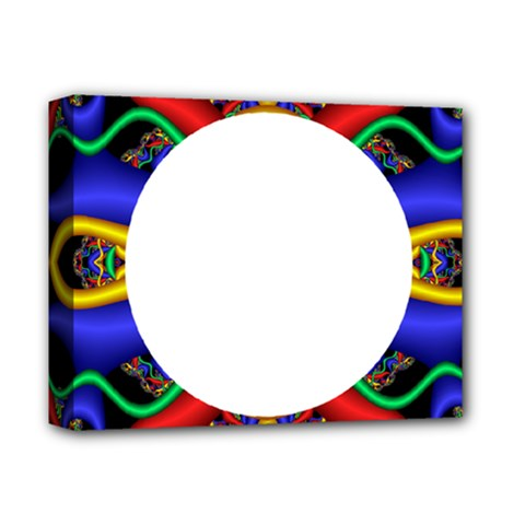 Symmetric Fractal Snake Frame Deluxe Canvas 14  X 11  by Simbadda