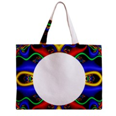 Symmetric Fractal Snake Frame Mini Tote Bag by Simbadda