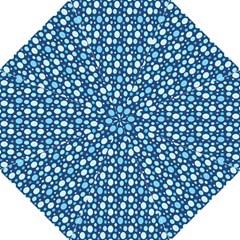 Polka Dot Blue Hook Handle Umbrellas (large) by Mariart