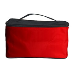 Red Gradient Fractal Backgroun Cosmetic Storage Case by Simbadda