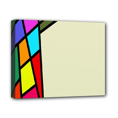 Digitally Created Abstract Page Border With Copyspace Canvas 10  X 8  by Simbadda