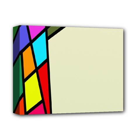 Digitally Created Abstract Page Border With Copyspace Deluxe Canvas 14  X 11  by Simbadda