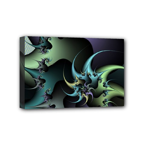Fractal Image With Sharp Wheels Mini Canvas 6  X 4  by Simbadda