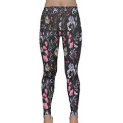 Wildflowers I Classic Yoga Leggings by tarastyle