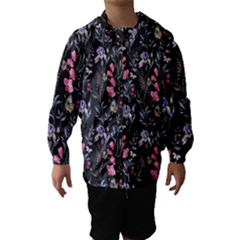 Wildflowers I Hooded Wind Breaker (kids) by tarastyle