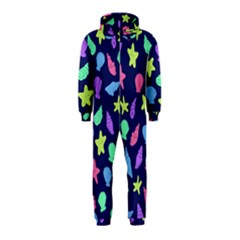 Shells Hooded Jumpsuit (kids) by BubbSnugg