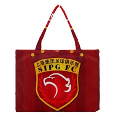 Shanghai Sipg F C  Medium Tote Bag by Valentinaart