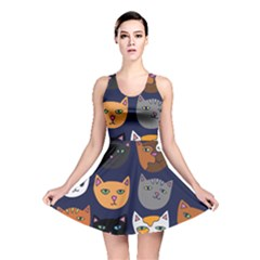 Cat  Reversible Skater Dress by BubbSnugg