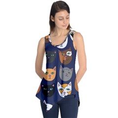 Cat  Sleeveless Tunic