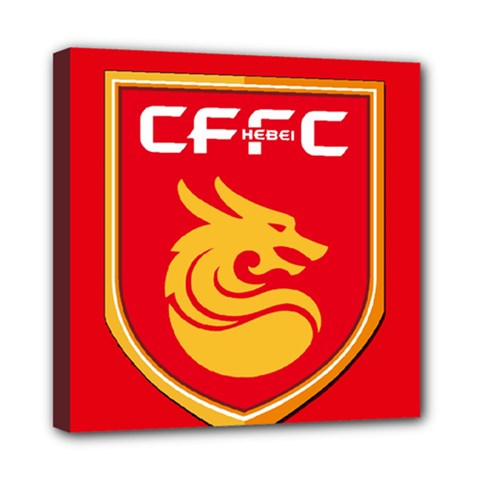 Hebei China Fortune F.C. Mini Canvas 8  x 8