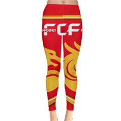 Hebei China Fortune F C  Leggings  by Valentinaart