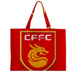 Hebei China Fortune F C  Medium Tote Bag by Valentinaart