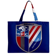 Shanghai Greenland Shenhua F C  Medium Tote Bag by Valentinaart