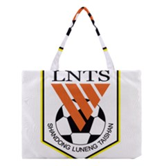 Shandong Luneng Taishan F C  Medium Tote Bag by Valentinaart