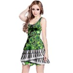 Piano - Reversible Sleeveless Dress