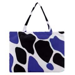 Digital Pattern Colorful Background Art Medium Zipper Tote Bag by Simbadda