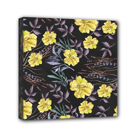 Wildflowers Ii Mini Canvas 6  X 6