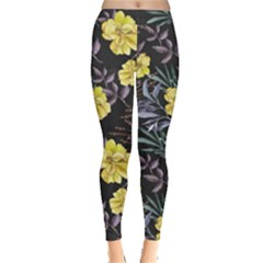 Wildflowers Ii Leggings  by tarastyle