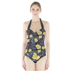 Wildflowers Ii Halter Swimsuit