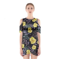 Wildflowers Ii Shoulder Cutout One Piece
