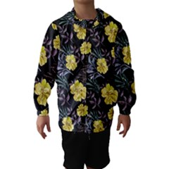 Wildflowers Ii Hooded Wind Breaker (kids)