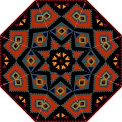 Abstract A Colorful Modern Illustration Straight Umbrellas by Simbadda