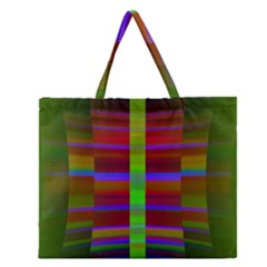 Galileo Galilei Reincarnation Abstract Character Zipper Large Tote Bag by Simbadda