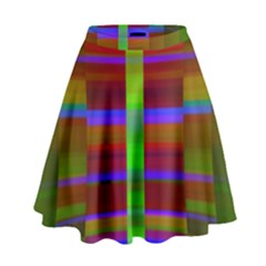 Galileo Galilei Reincarnation Abstract Character High Waist Skirt by Simbadda