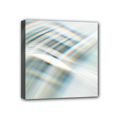 Business Background Abstract Mini Canvas 4  X 4  by Simbadda