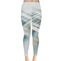 Business Background Abstract Leggings  by Simbadda