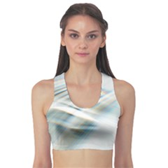 Business Background Abstract Sports Bra by Simbadda