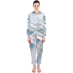 Business Background Abstract Hooded Jumpsuit (ladies)  by Simbadda