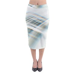 Business Background Abstract Midi Pencil Skirt by Simbadda