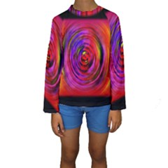 Colors Of My Life Kids  Long Sleeve Swimwear by Simbadda