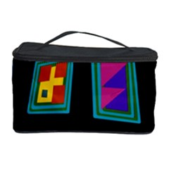 Abstract A Colorful Modern Illustration Cosmetic Storage Case by Simbadda
