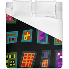 Abstract A Colorful Modern Illustration Duvet Cover (california King Size) by Simbadda