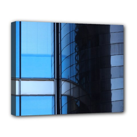 Modern Office Window Architecture Detail Deluxe Canvas 20  X 16   by Simbadda