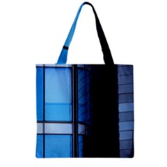 Modern Office Window Architecture Detail Grocery Tote Bag by Simbadda