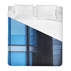 Modern Office Window Architecture Detail Duvet Cover (full/ Double Size) by Simbadda