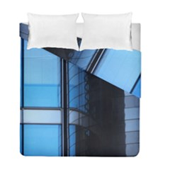 Modern Office Window Architecture Detail Duvet Cover Double Side (full/ Double Size) by Simbadda