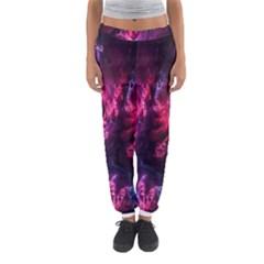 Abstract Fractal Background Wallpaper Women s Jogger Sweatpants by Simbadda