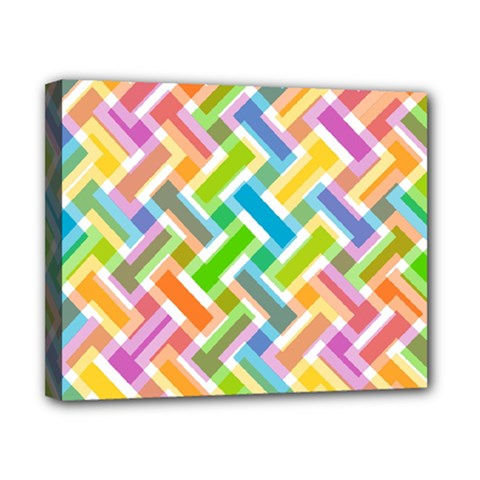 Abstract Pattern Colorful Wallpaper Background Canvas 10  x 8