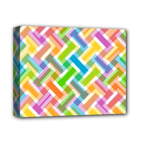 Abstract Pattern Colorful Wallpaper Background Deluxe Canvas 14  x 11