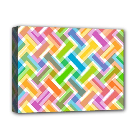 Abstract Pattern Colorful Wallpaper Background Deluxe Canvas 16  x 12
