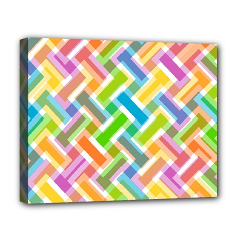 Abstract Pattern Colorful Wallpaper Background Deluxe Canvas 20  x 16