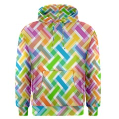 Abstract Pattern Colorful Wallpaper Background Men s Pullover Hoodie
