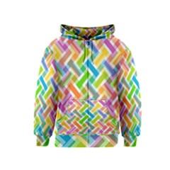 Abstract Pattern Colorful Wallpaper Background Kids  Zipper Hoodie